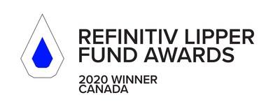 Refinitiv Lipper Fund Awards 2020 (CNW Group/TD Asset Management Inc.)