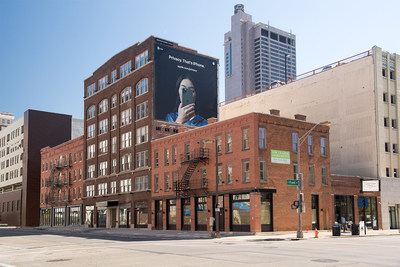 Renovated facade Microliving @ Long and Front