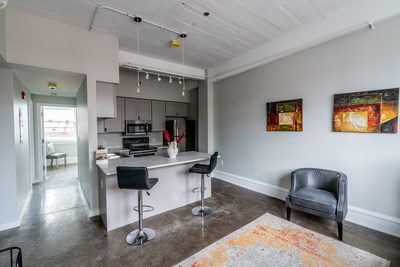 New microliving unit at Long and Front