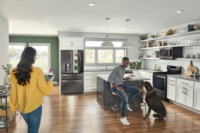 Connected Home Kitchen with ThinQ (CNW Group/LG Electronics Canada)