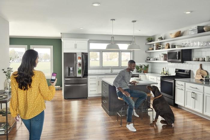 Maison connectée avec ThinQ (Groupe CNW/LG Electronics Canada)