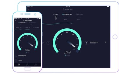 C Spire Fiber, which offers consumers Gigabit symmetrical broadband internet access, live streaming TV and home phone services, has been verified as Mississippi's fastest internet service provider by Ookla®, the global leader in internet testing and analysis.