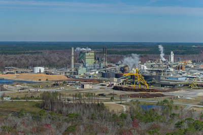 Georgia-Pacific's consumer products mill in Palatka, Florida, earned the U.S. Environmental Protection Agency's (EPA's) EnergyStar Top Project for 2020.