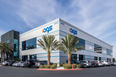 Global gaming supplier AGS was awarded the 'Nevada Top Workplaces 2020' award. Pictured here: AGS' global corporate headquarters in Las Vegas, Nevada.