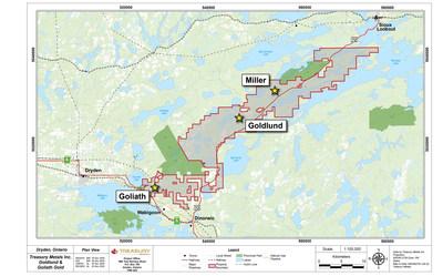 Figure 2: Regional Exploration Targets (CNW Group/Treasury Metals Inc.)