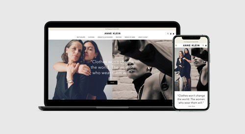 The first brand to launch on the digital platform WHP+ is WHP Global's iconic women's fashion brand, ANNE KLEIN.