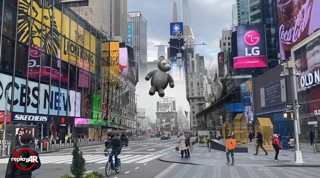 Augmented reality reveals a unique look back at the visual history of the annual Macy's Thanksgiving Day Parade in NYC.