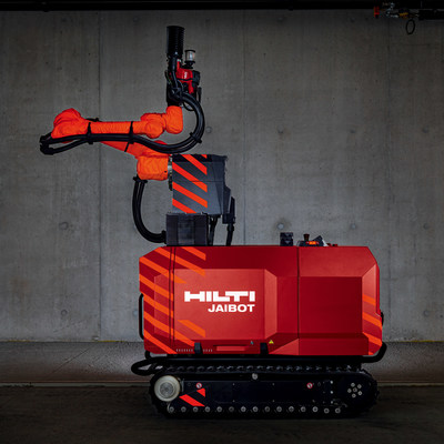 Hilti Jaibot - ceiling drilling robot