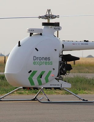 Drones Express to use Condor drone to service the needs of rural communities in Quebec (CNW Group/Drone Delivery Canada)