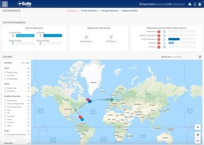 CSafe customer shipment visibility dashboard