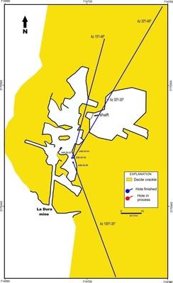 La Dura Mine (CNW Group/Tarachi Gold Corp.)