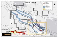 O3 Mining Intersects 383.4 g/t Au Over 2.0 Metres Including 1,510 g/t Au over 0.5 Metres at Marban Project