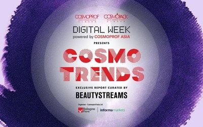 The CosmoTrends report provides a vital perspective on the beauty market and is truly a must-have for all in the industry.