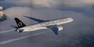 Star Alliance airplane