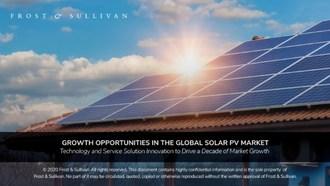 Frost & Sullivan -太阳能光伏