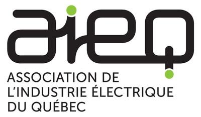 Logo de l'Association de l'industrie électrique du Québec (AIEQ) (Groupe CNW/Association de l'industrie électrique du Québec (AIEQ))