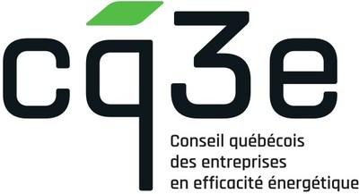 Logo du Conseil québécois des entreprises en efficacité énergétique (CQ3E) (Groupe CNW/Association de l'industrie électrique du Québec (AIEQ))