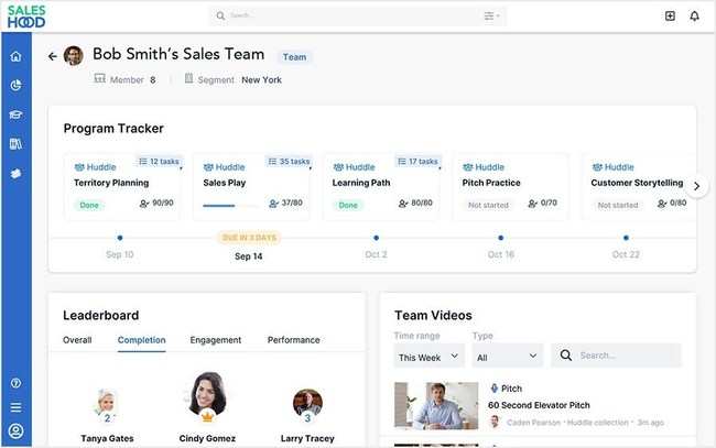 SalesHood Launches Coaching Command Center for Front-Line Managers to Scale Virtual Sales Coaching