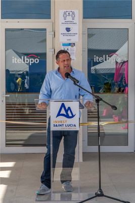 Yoni Epstein, Founding Chairman and CEO, addresses the crowd at the official launch in July.
