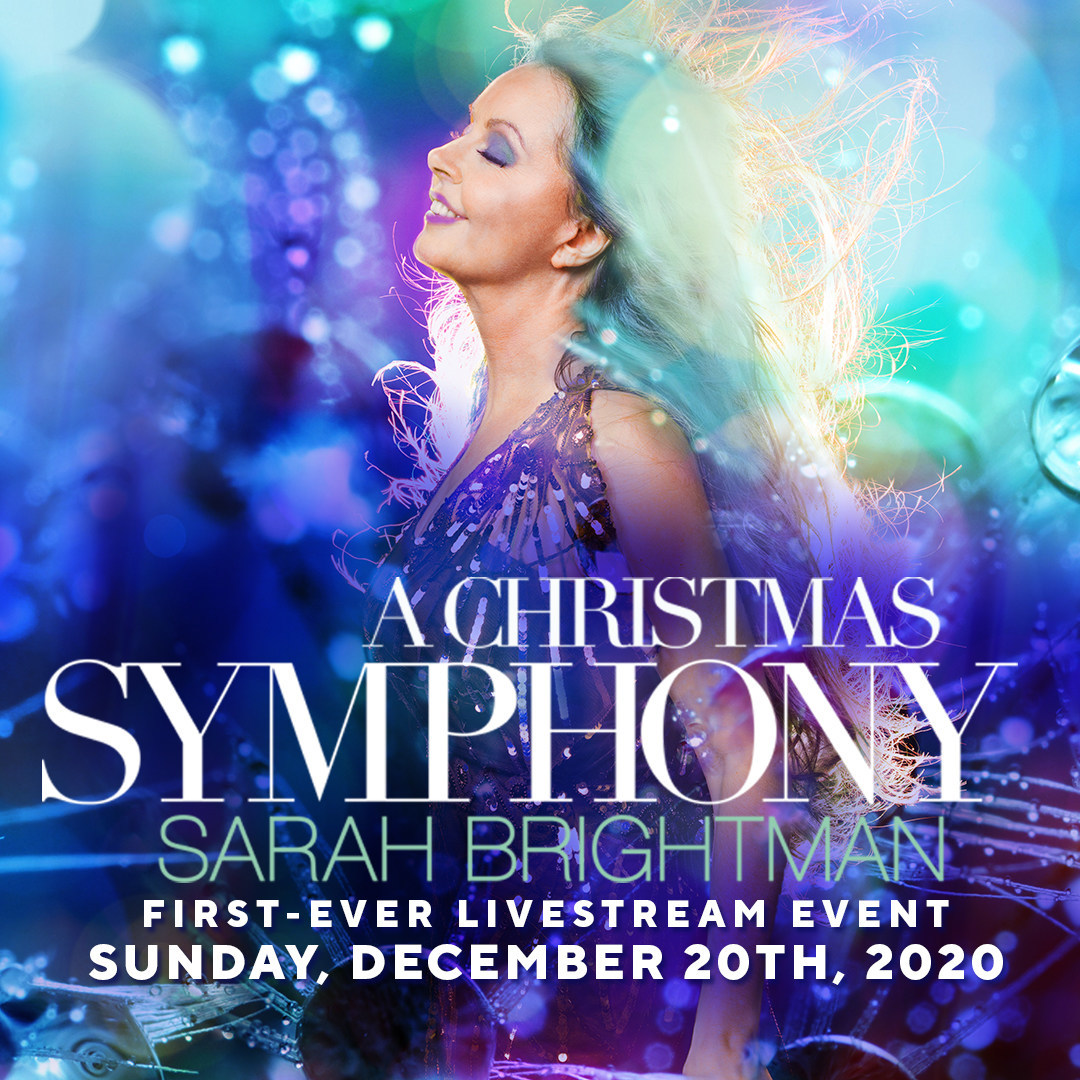 Christmas Concerts- December 9, 2021 Bethesda Md Sarah Brightman Lights Up The Holidays With Her First Ever Livestream Concert Event Sarah Brightman A Christmas Symphony On December 20th Tickets Exclusive Limited Edition Packages Available Today