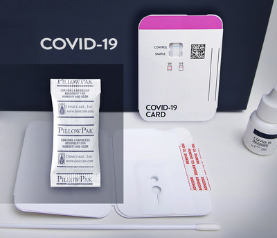 Desiccare, Inc has the immediate availability and inventory of various desiccants used in diagnostic test kits, including COVID-19 test kits, to enable these test kits to remain effective during shipping.