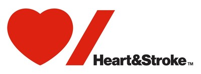 Heart & Stroke Logo (CNW Group/Heart and Stroke Foundation)