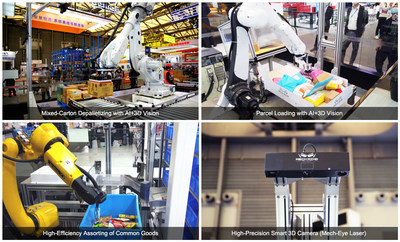 Mech-Mind Robotics Showcases Intelligent Industrial Robot Solutions for Smart Logistics at CeMAT ASIA 2020