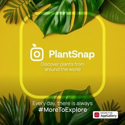 Explora PlantSnap en AppGallery (PRNewsfoto/AppGallery, Huawei)