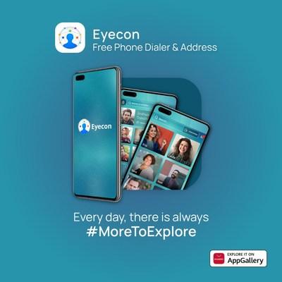 Explore Eyecon en AppGallery (PRNewsfoto/AppGallery, Huawei)