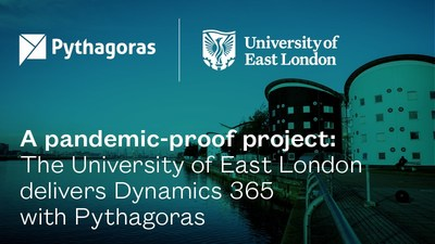 A pandemic-proof project: The University of East London delivers Dynamics 365 with Pythagoras.