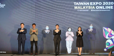 Taiwan Expo 2020 in Malaysia Online held its opening ceremony today (Nov 25). The expo was jointly kicked off with a unique virtual combination. Distinguished guests from Taiwan and Malaysia then joined in with the butterfly hand gesture to symbolise Taiwan. Following that, the VIPs proceeded with a virtual handshake to signal the building of strong ties and cooperation between both countries.
