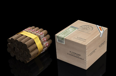 The new vitola H. Upmann Connossieur No.2 (51 ring gauge and 134 mm length)