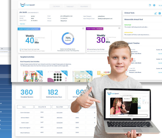 Powered by an award-winning artificial intelligence technology, AmplioSpeech equips school districts with a platform that powers special education in the 21st century.