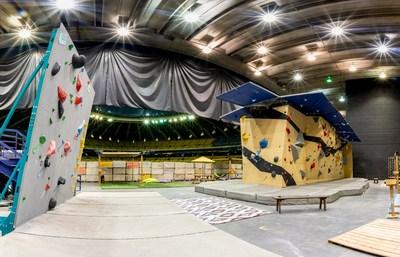 Le Centre d'escalade Nomad Bloc du Stade olympique (Groupe CNW/Parc olympique)