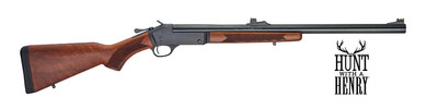 In addition to Henry's side loading gate transition of their steel-framed firearms, Henry is also releasing a new Slug Barrel shotgun for hunters in restricted shotgun-only states that features a fully rifled barrel and fiber optic sights.