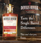 Devils River Distillery Bottles Single Barrel Bourbon...