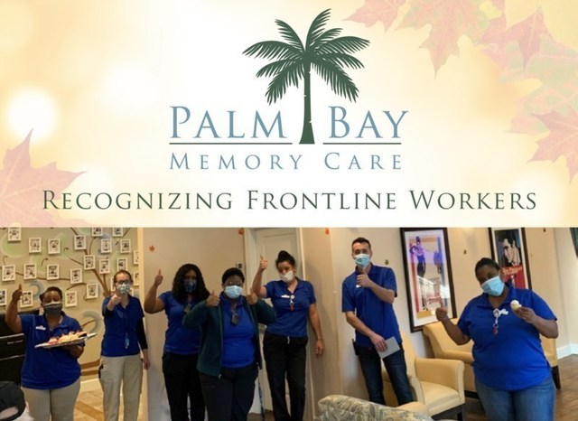 The staff at Palm Bay Memory Care in Palm Bay, Florida received a special night of celebration honoring their hard work and dedication to seniors throughout the challenging year.