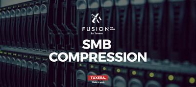 Fusion File Share SMB by Tuxera featuring SMB compression