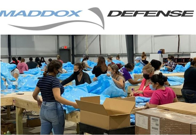 Maddox Defense manufacturing warehouse in Houston, Texas.