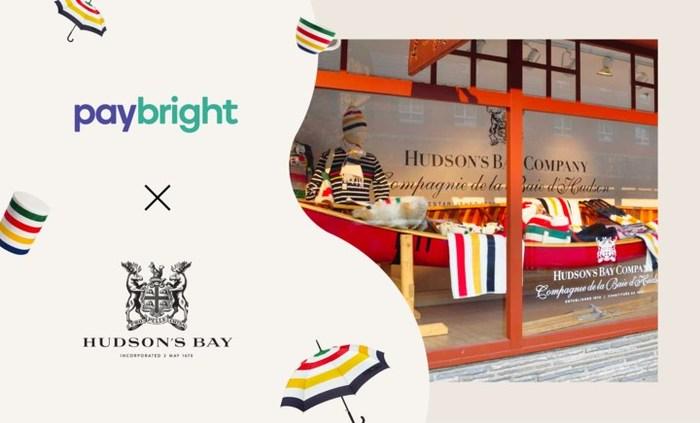 PayBright | La Baie d'Hudson (Groupe CNW/PayBright)