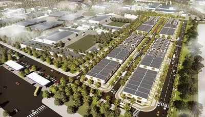 Apec Diem Thuy Industrial Park is synchronously invested with high infrastructure standards