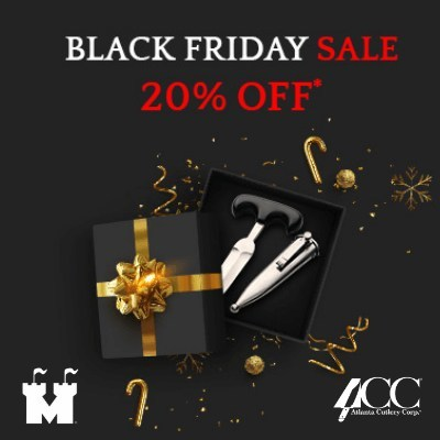 Museum Replicas' and Atlanta Cutlery's Black Friday Sale lets their customers save big on their favorites. Whether customers are getting a head start on their gift lists, or readying their homes for family festivities, the group is surely making the holidays easier than ever with top deals at jaw-dropping prices.