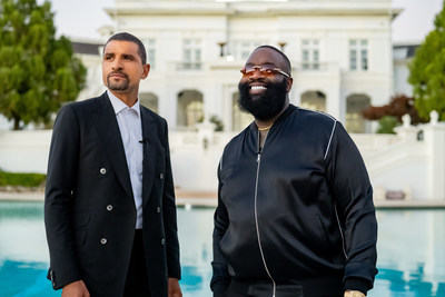 Tommy Duncan, Founder and CEO of Jetdoc with Jetdoc investor, advisor and superstar, Rick Ross.