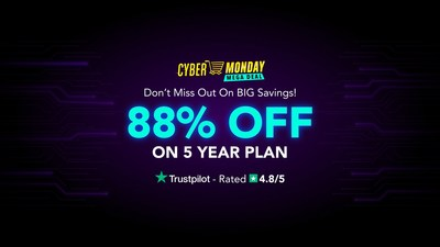 PureVPN's Cyber Monday VPN Deal Is Here