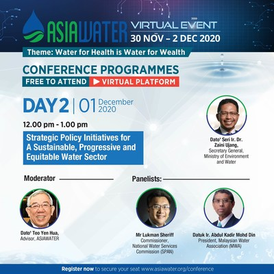 ASIAWATER Virtual 2020 - Day 2 conference highlight