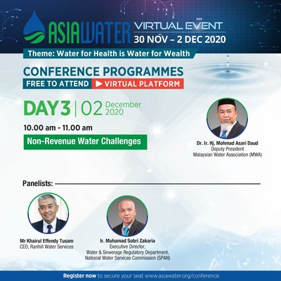 ASIAWATER Virtual 2020 - Day 3 conference highlight