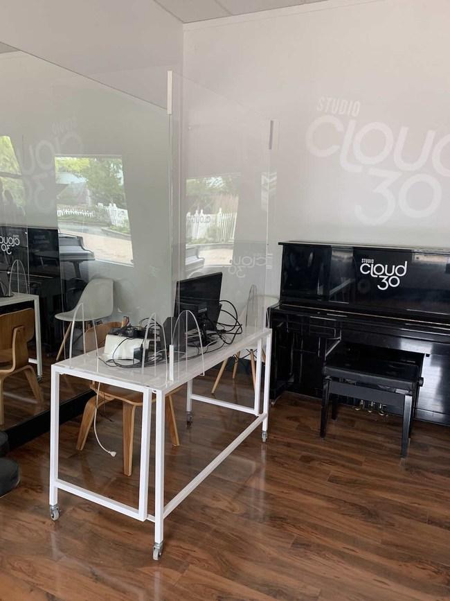 Studio Cloud 30 teaching area