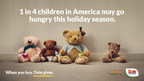 Dole Packaged Foods Launches Heartfelt #UnstuffedBears Initiative to Change Harsh Reality of Childhood Hunger