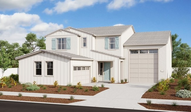 The Paulson model home with attached RV garage is opening for tours at Richmond American's Midway Grove at Homestead community in Dixon, CA.