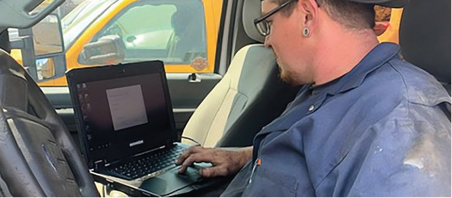 Durabook's rugged laptops can diagnose the problems and perform reliably for service technicians
